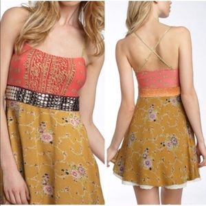 Free People Bollywood Princess Mini Dress Sz. 4